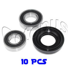 10Pcs Whirlpool Duet Sport Front Load Washer Bearing  Seal Kit AP3970398