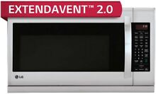 LG 2 2CuFt Over the Range Microwave Oven Model  LMH2235ST   No Tax