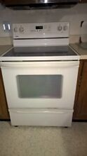 Kenmore kitchen  Glass Top Stove with oven from remodeling kitchen LOCAL PICKUP