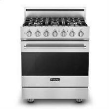 Viking 30  5 Sealed Burners Freestanding ProFlow SS Gas Range RVGR3305BSS