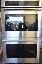 Monogram 30  Stainless Steel Double Electric Convection Wall Oven ZET9550SHSS