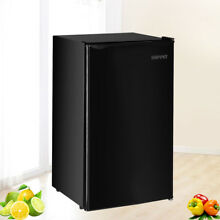 4 6 Cu Ft Refrigerator Mini Fridge Compact Dorm Office Camper Black