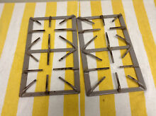 Whirlpool Range Oven Surface Burner Grates Set Of 2   74007355 free shipping