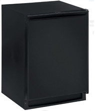 U Line 2175RFB00 2000 Series 24  Built in Compact Refrigerator Freezer in Black