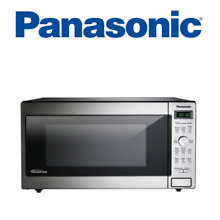 Panasonic NN SD745S 1 6 Cu  Ft  Built In Countertop Microwave Oven Stainless