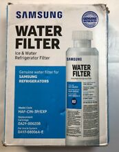 Brand New Genuine Samsung HAF CIN 3P EXP Ice   Water Refrigerator Filter 3 Pack