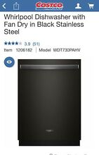 Whirlpool Dish Washer Black Stainless  Wdt730pahv