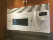 GE Advantium 1 3 Cubic Feet  Over the Range  Microwave Oven  240V    USED