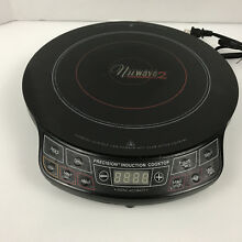 NUWAVE PRO INDUCTION COOKTOP EXCELLENT CONDITION MODEL 30101 2 C2