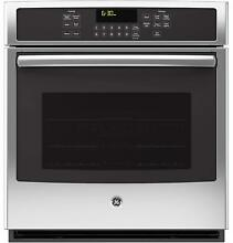 GE JK5000SFSS 30  Single Electric Convection Oven in Stainless Steel