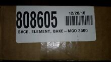 808605 Wolf oven  SVCE  ELEMENT BAKE  MGO 3500