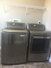 LG 5 0 cu ft High Efficiency Top Load Washer  Graphite Steel  ENERGY STAR