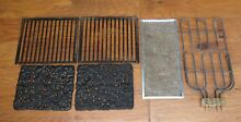 Jenn Air range stove heating element  lava rocks  grill grates  vent screen