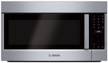 Bosch 800 Series HMV8053U 1 8 cu  ft  Over the Range Microwave Oven S Steel