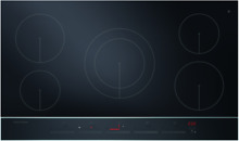 Fisher   Paykel CI365DTB2 36  Electric Black Induction Cooktop w 5 Cooking Zones