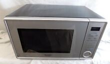 Pearl Silver Sharp R 309YV Microwave 1000 Watt R 309 Energy Star 1 1 Cubic Foot
