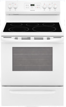 Frigidaire FFEF3054TW 30 Inch Electric Range in White with Quick Boil