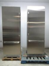 Dacor Discovery 60  Fully Integrated SS Bottom Freezer DYF30BFBSL   DYF30BFBSR