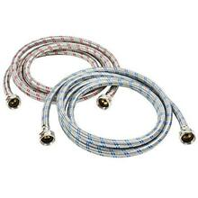 Washing Machine Hose Stainless Steel Braided Water Supply Line   2 FREE SHIP