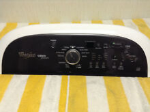 Whirlpool Cabrio Washer Control Panel W10521055 free shipping