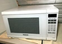 Panasonic Countertop Built In Microwave Oven  2 2 Cu  Ft  1250W  WHITE NN SN66IS