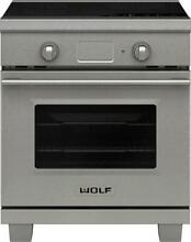 NIB Wolf 30  4 Induction Zones Dual Convection Oven Induction Range IR304TESTH