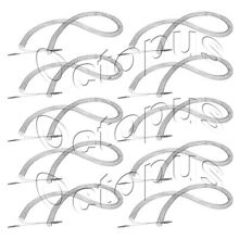 10 Pack Dryer Heating Element Fits Frigidaire  AP2135127  PS451031  5300622032