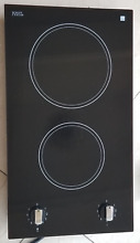 REFIRBISHED RAMBLEWOOD EC2 30 GLASS ELECTRIC COOKTOP 2 BURNER SHIPS FAST