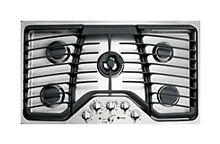 Brand New GE PGP986SET Stainless Steel 36 in  Gas Gas Cooktop