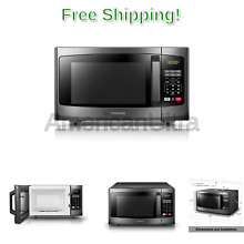 Toshiba EM925A5A BS Microwave Oven with Sound On Off ECO Mode and LED Lightin