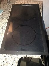 Jenn Air Cooktop Electric Radiant Glass Cartridge   Black