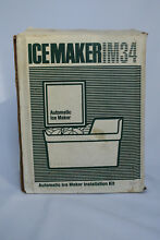 FRIGIDAIRE IM 34 Automatic Ice Maker Kit Replacement OEM New Old Stock