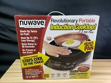 NuWave 30532 Induction Portable Cooktop with 9  Ceramic Fry Pan   New   5331 2
