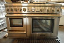 Thermador 48  Stainless Steel Pro Grand Steam Dual Fuel Range PRD48JDSGU