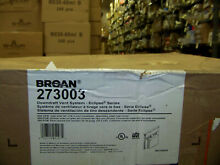 Broan Downdraft Vent System   Eclipse Series 30  500 CFM  273003 New