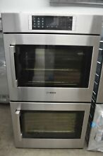 Bosch Benchmark 30  Stainless Steel Double Electric Wall Oven HBLP651RUC