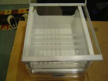 FRIGIDAIRE REFRIGERATOR DELI DRAWER   SHELF W  GLASS 215919173 5303302802
