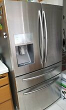 Samsung 36  Counter Depth French Door Refrigerator Stainless Steel