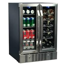 NewAir 23 5 in  Beverage Wine Cooler 18 Bottle 60 Can W  Built in Compressor