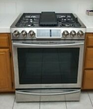 SAMSUNG NX58H5600SS 5 8 Cu Ft Freestanding Gas Range   Stainless Steel