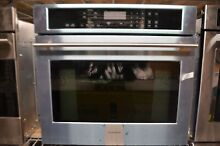 Monogram 30  Stainless Steel Single Electric Convection Wall Oven ZET9050SHSS