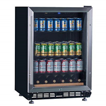 LANBO Beverage Cooler Refrigerator  148 Cans DOE Certificated Built in Drink for