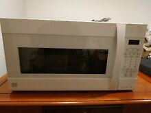 EXCELLENT SHAPE Kenmore Elite Microwave Hood Combination  White 5 Speed Vent