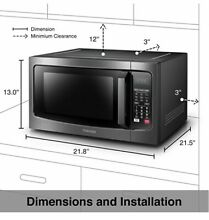 Convection Microwave Oven Combo  Toshiba  EC042A5C BS