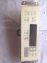 Maytag stove parts Digital Controller 8180 0322 Cream Color