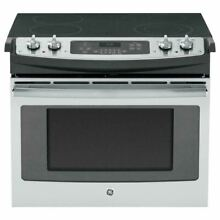 GE 30  Stainless Steel Drop In Electric Range JD630SFSS