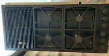 Propane Gas Dacor 46  Black Cooktop With Grill Broiler SGM464EM  Good Condition