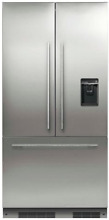 Fisher   Paykel RS36A72U1 36  Built in French Door Refrigerator Stainless Steel