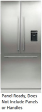 Fisher   Paykel RS36A80U1 Active Smart 36 Inch Built in French Door Refrigerator