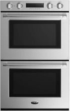 DCS WODV230 30 Inch Electric Double Wall Oven in Stainless Steel 4 1 cu  ft